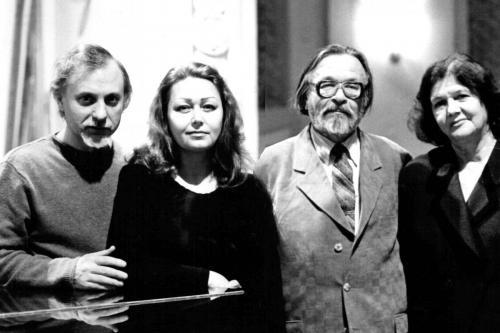 С Борисом Николаевичем Трубиным и его супругой Валентиной Степановной