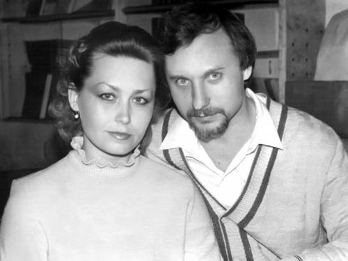 С женой Татьяной 1989 г.