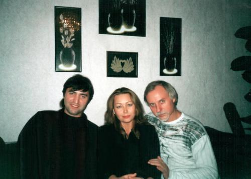 С исполнителем песен Сергея Андреем Алтаевым